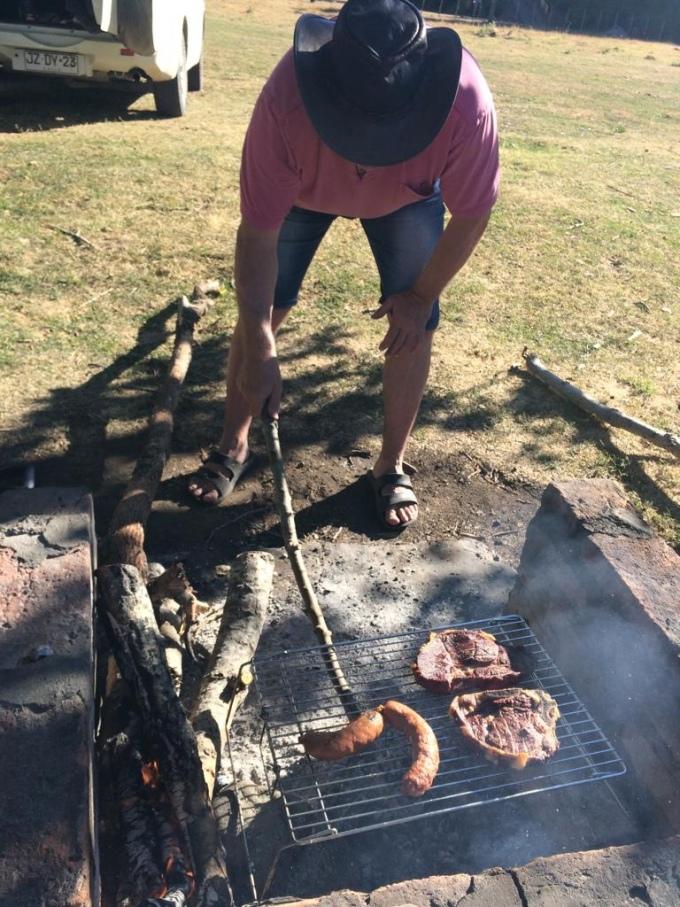 Natur pur - argentinisches Fleisch auf dem Grill