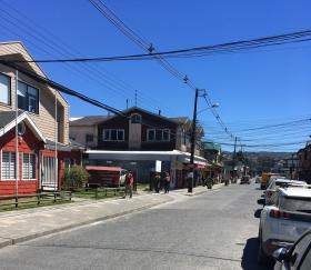 Einkaufsstraße in Castro