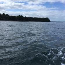 Mit dem Boot im Parque Tantauco