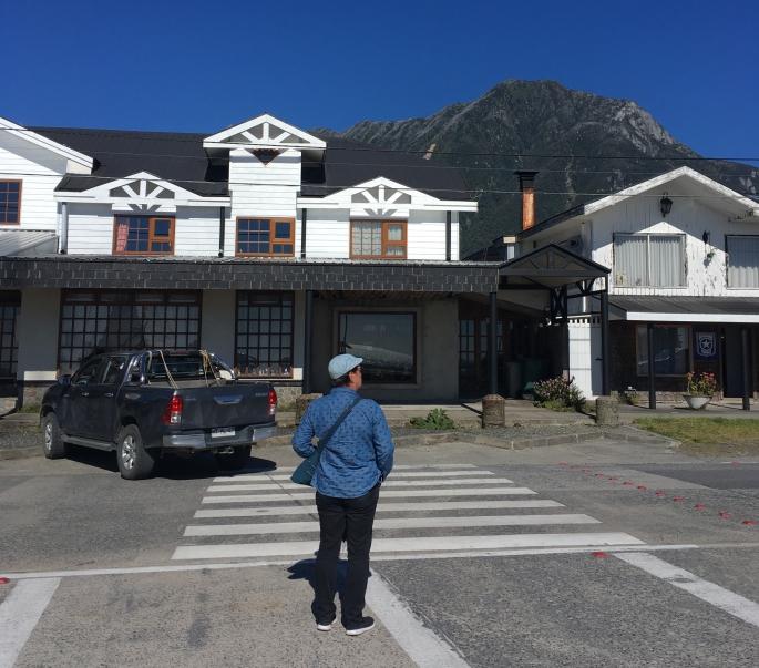 Unser Hotel in Chaiten