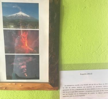 Die Zerstörung von Coñaripe