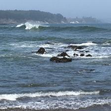 am Pazifik entlang